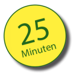 Die Fahrt dauert ca. 25 Minuten